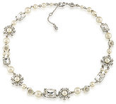 Carolee 21 Club Pearl Collar Necklace