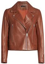 Rag & Bone Mack Leather Biker Jacket