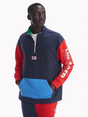 Tommy Hilfiger Essential Colorblock Quarter Zip Sweatshirt