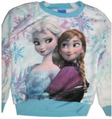 Disney Big Girls Sky Elsa Anna Frozen Long Sleeve Shirt 14-16