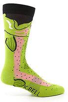 K. Bell Trout Leg-Eater Crew Socks