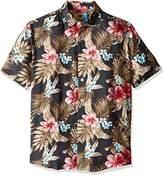 Margaritaville Men's Hibiscus Bbq Shirt