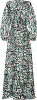 Duro Olowu Floral-print silk gown
