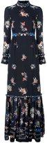 Vilshenko floral print ruffled dress