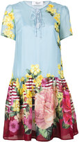 Blugirl floral-print dress - women - Silk/Cotton/Polyester - 38