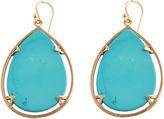 Barse FINE JEWELRY Art Smith by Blue Magnesite Large Teardrop Earrings