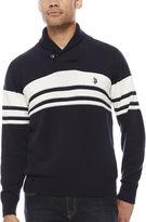 U.S. Polo Assn. Long Sleeve Cotton Pullover Sweater