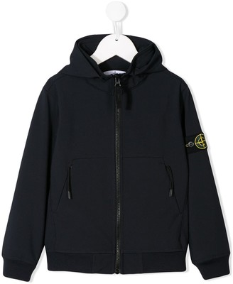 Stone Island Junior Logo Patch Jacket