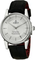 Vivienne Westwood Men's VV065SLBK The Finsbury Analog Display Swiss Quartz Black Watch