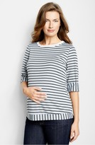 Maternal America Women's 'Sailor' Maternity Top