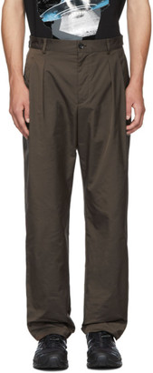 Valentino Brown Undercover Edition Pocket Trousers