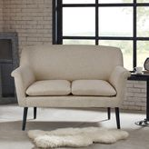 Madison Park Davenport Rolled-Arm Settee in Cream