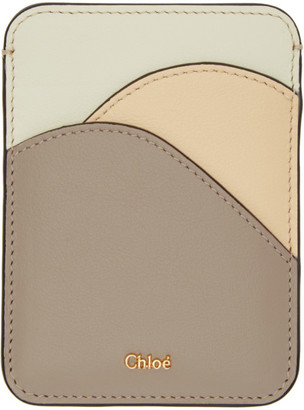 Chloé Grey Walden Card Holder