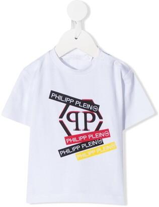Philipp Plein logo stamp T-shirt
