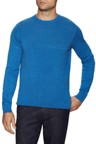 Ben Sherman Solid Ribbed Crewneck Sweater