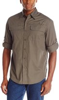 Wrangler Men's Authentics Long Sleeve Utility Shirt
