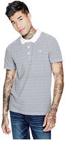 GUESS Men's Eglee Printed Polo