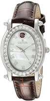 Croton Women's CN207537BUMP Balliamo January Birthstone Analog Display Quartz Red Watch