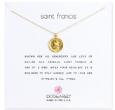 Dogeared Women's Saint Francis Pendant Necklace
