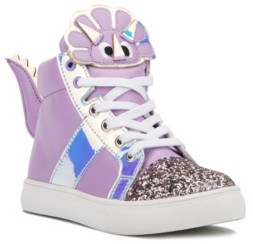 OLIVIA MILLER Big Girls Shine Bright Sneaker