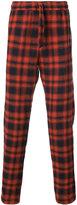 Faith Connexion plaid drawstring trousers