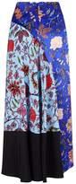 Diane von Furstenberg Midi-Length Floral Skirt