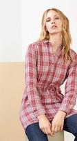 Esprit OUTLET check print shirt dress