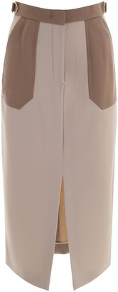 Fendi Straight Midi Pencil Skirt