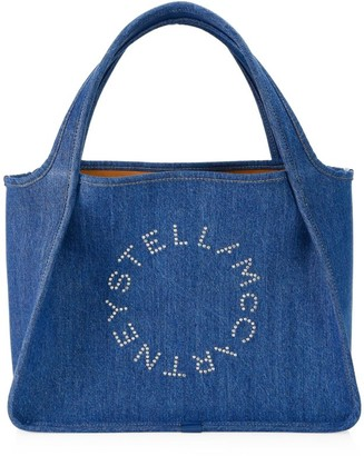 Stella McCartney Logo Eco Denim Tote