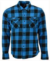 Levi's Men's Carolina Panthers Plaid Barstow Western Shirt