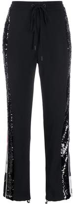 Iceberg Sequin Embellished Track Trousers
