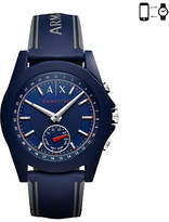 Armani Exchange Connected Hybrid Silicone Strap Smartwatch