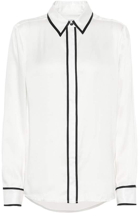 Equipment Genevia silk-blend satin shirt
