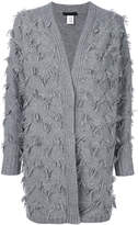 Fabiana Filippi fringed trim detailed cardigan