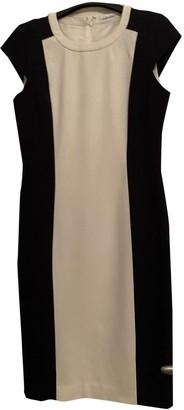 Calvin Klein Blue Wool Dress for Women