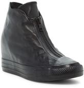 Converse Chuck Taylor(R) All Star(R) Lux Shroud Genuine Leather Hidden Wedge Bootie (Women)