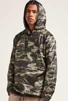 21men 21 MEN Camo Print Anorak Jacket
