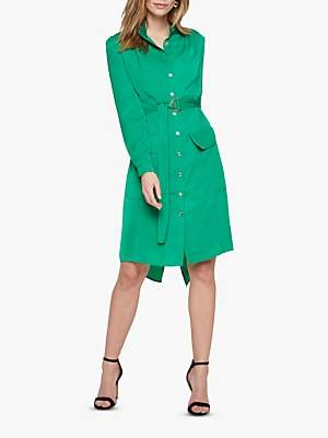 Damsel in a Dress Tulia Tunic Shirt Dress, Green