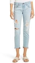 Rag & Bone Women's The Dre Capri Slim Boyfriend Jeans