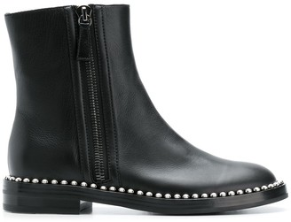 Casadei Studded Sole Ankle Boots