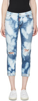 DSQUARED2 Blue Glam Head Jeans