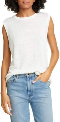 Jenni Kayne Knit Linen Shell Tank Top