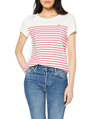 Tom Tailor Women's 1007877 T-Shirt,10 (Size: Small)
