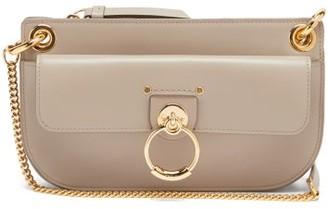 Chloé Tess Mini Leather Cross-body Bag - Grey