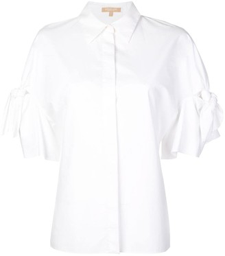 Michael Kors Tie Sleeve Shirt