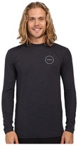 VISSLA Alltime Long Sleeve Heathered Surf Tee UPF 50
