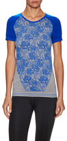 adidas by Stella McCartney Embroidered Seamless Tee
