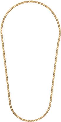 Saskia Diez Gold Grand Narrow Necklace