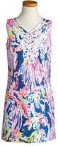 Lilly Pulitzer Mini Gabby Shift Dress (Little Girls & Big Girls)