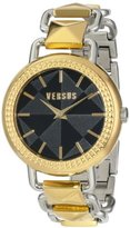 Versus By Versace Women's SOA050014 Coconut Grove Analog Display Quartz Gold Watch